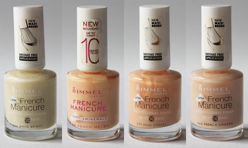 rimmel london nagellack french manicure nagel lack neu